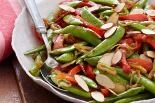 Sugar Snap Pea Saute recipe