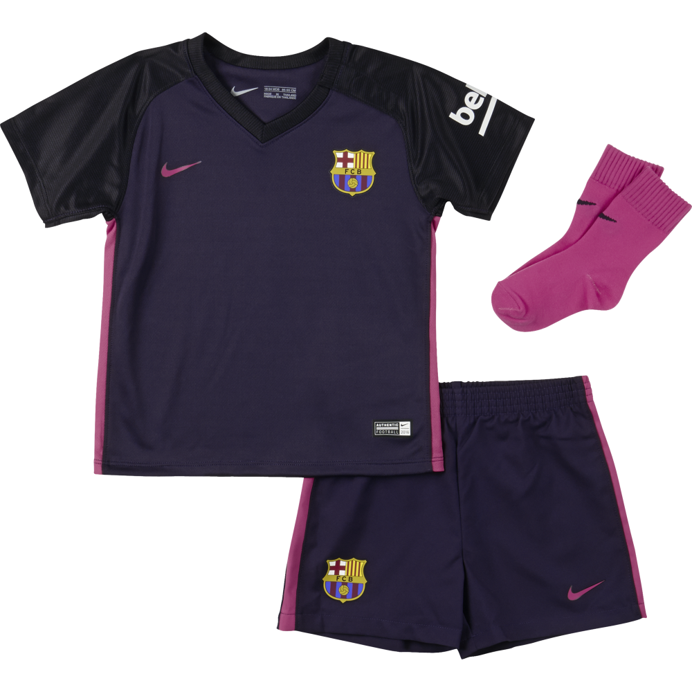 best website 2f02d e9dc8 Nike Barcelona Away Infant Kit 2016/2017 | Kids Football ...