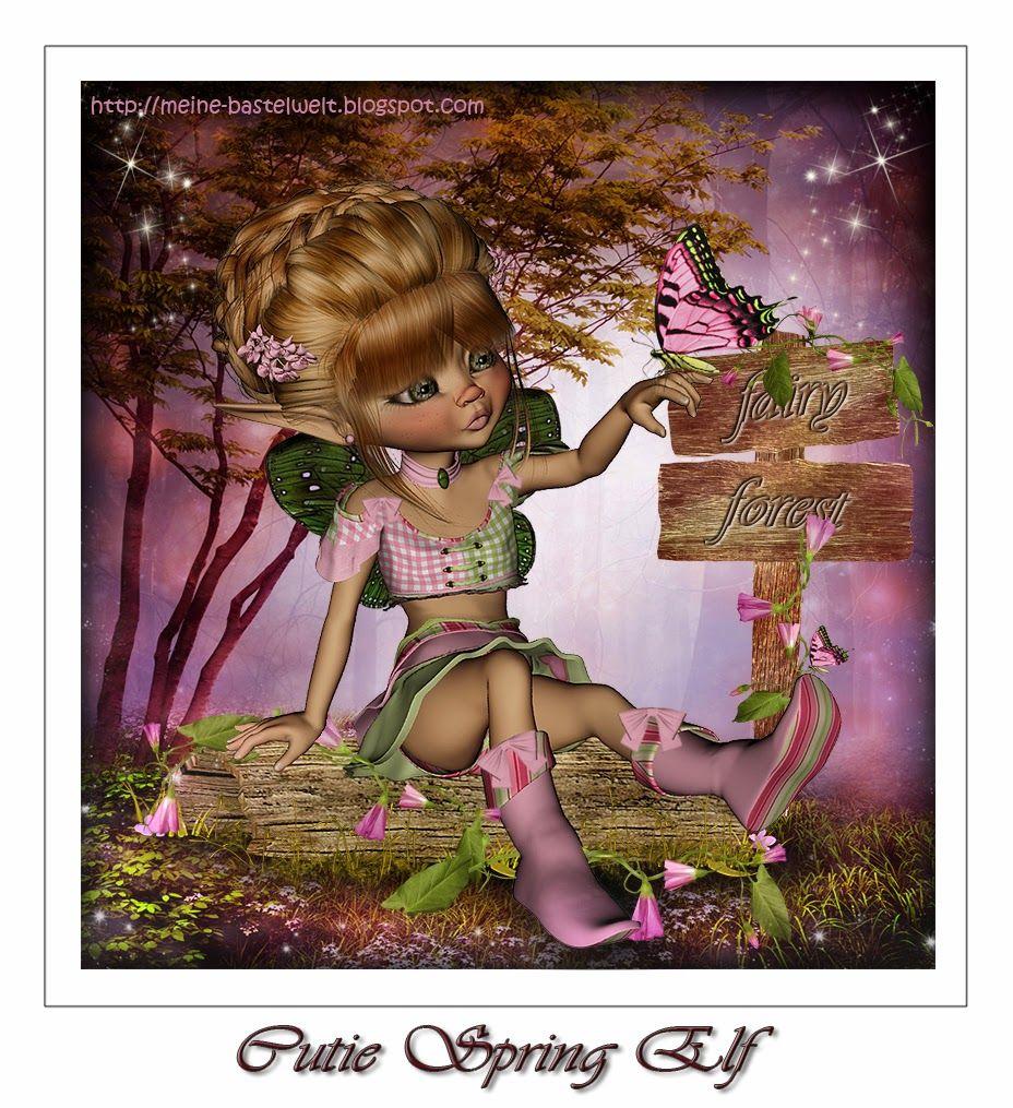 Meine Bastelwelt: Cutie Spring Elf