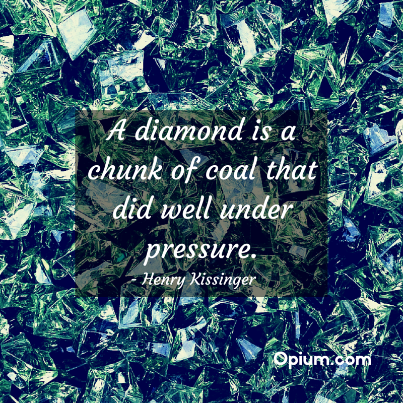 You can be like the diamond too! For help finding treatment for addiction call 800-584-3274 toll free anytime.