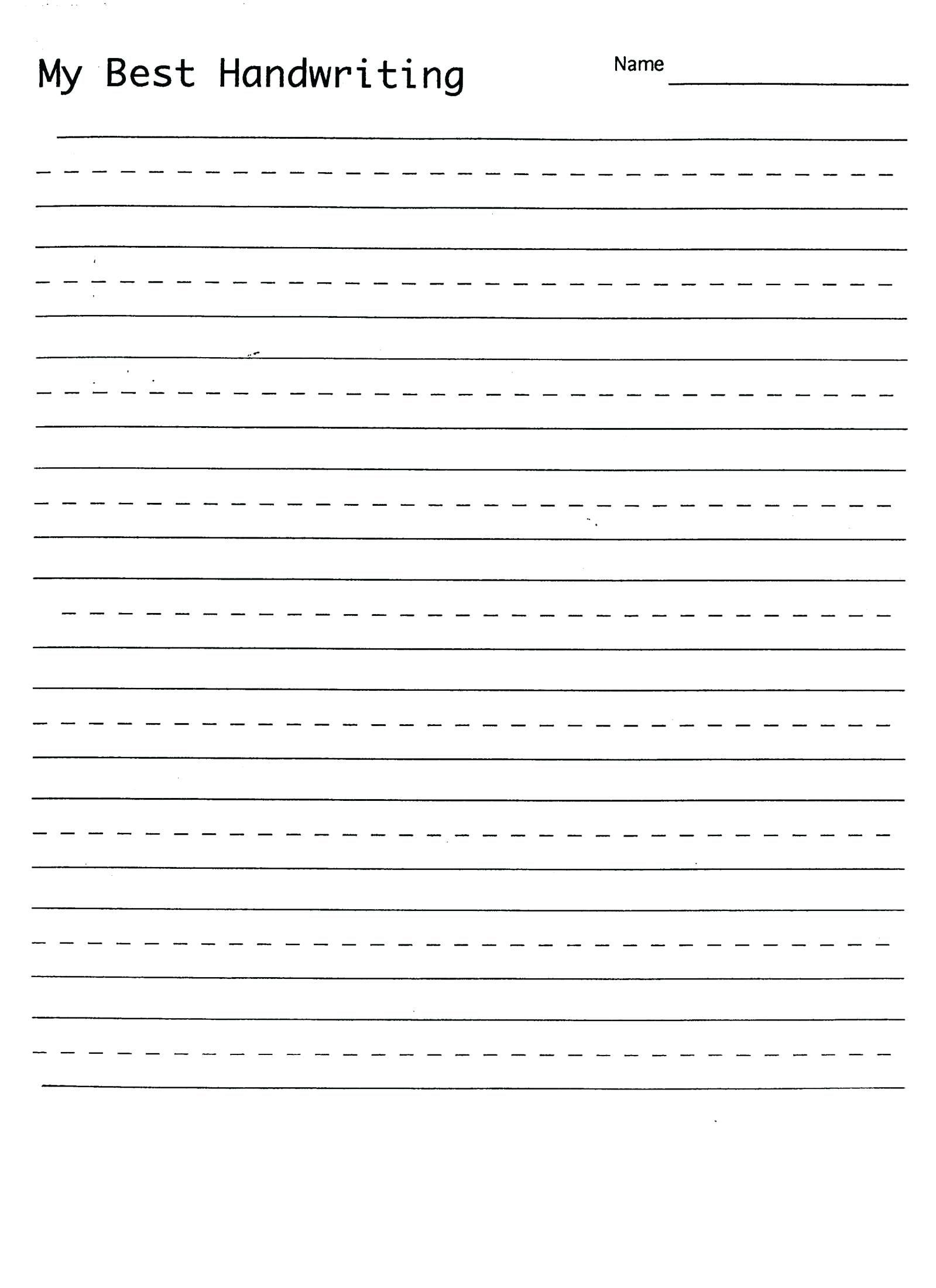 Printable Cursive Practice Worksheets