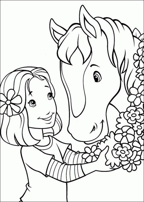 pferde malvorlagen ausmalbilder pferde pinterest