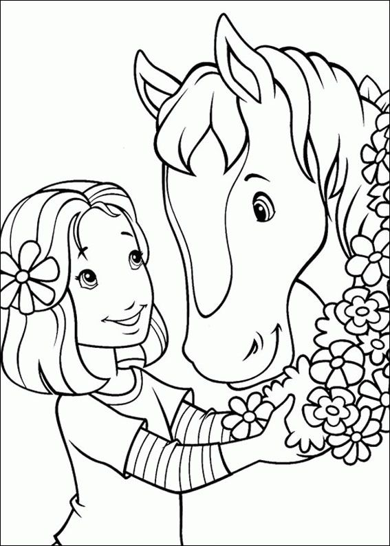 Pferde Malvorlagen … | Kita | Pinte…