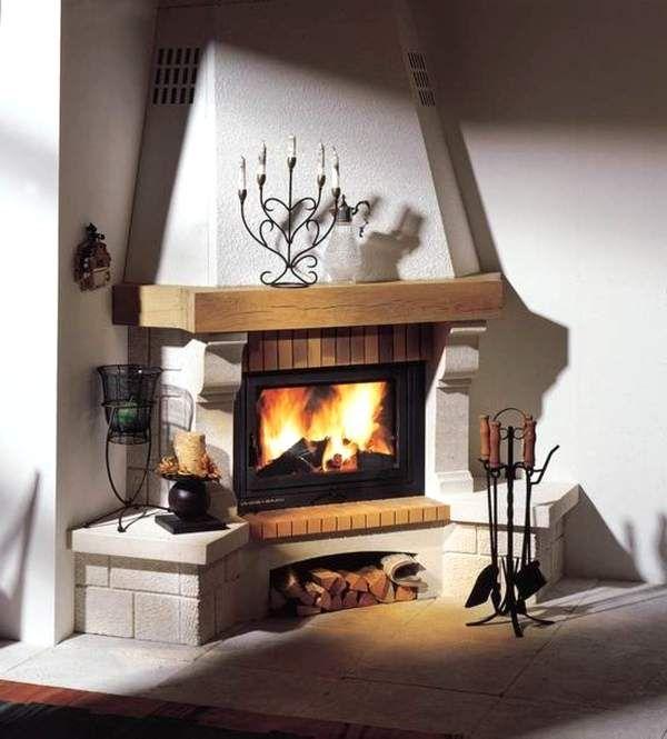 47 Fireplace Designs Ideas: угловые камины - Поиск в Google