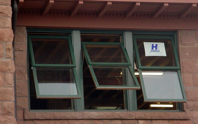 Soo Line Depot Ashland Wi H Window Custom Designed The Awning Style To Simulate Historically Correct Double Hung