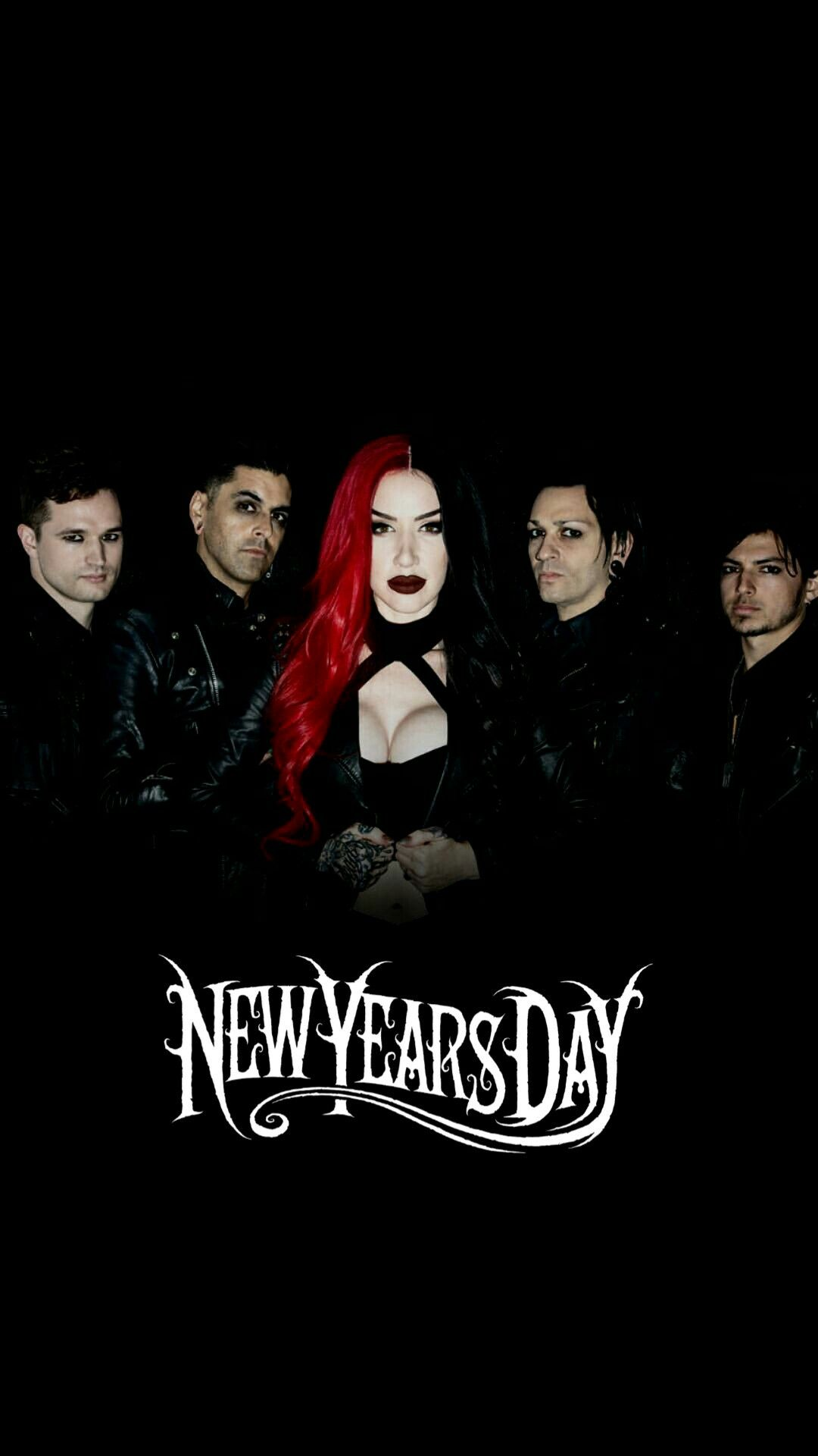 New Years Day Wallpaper For Phone New Years Day Band Ashley Costello Alternative Music