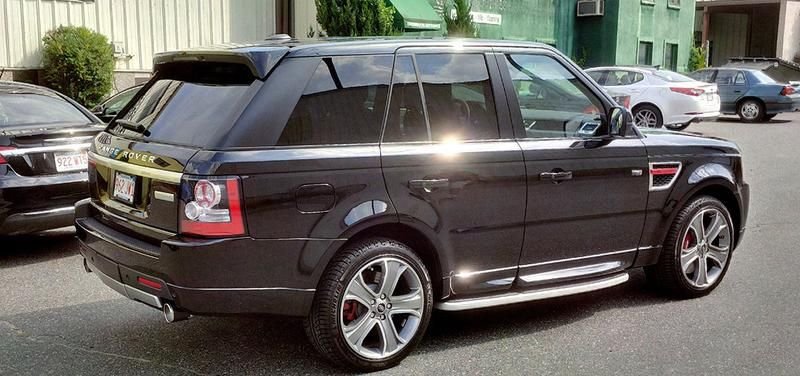 Range Rover Sport 5.0 V8 SuperCharged Sport Exhaust