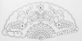 Abanico Embroidery Patterns Coloring Pages Embroidery Designs