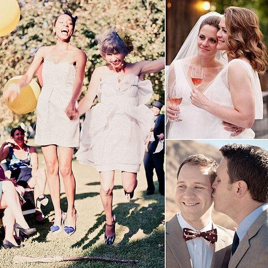 Gay weddings spread the