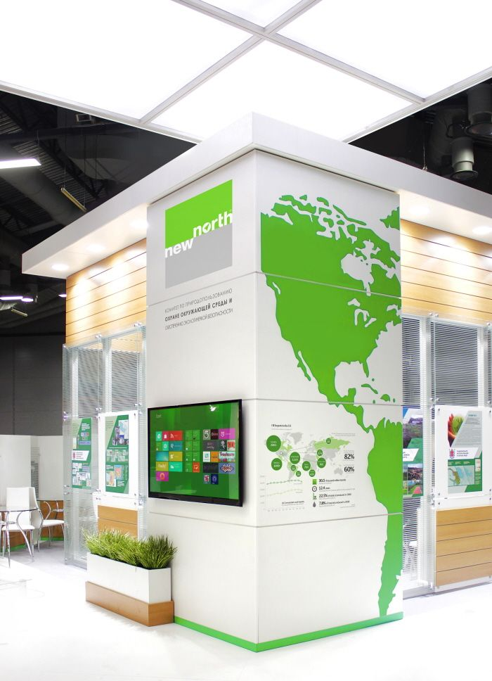 Exhibition Stand Location Map : Interesting map to showcase all the grants to dates and
