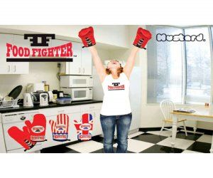 Boxing Glove Oven Mitts