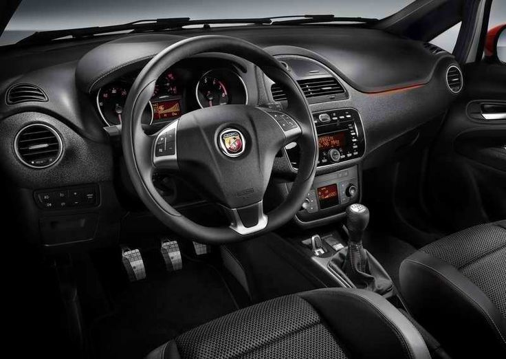Cool Fiat 2017: Intérieur Fiat Punto Abarth ! Black & Red Touch ...