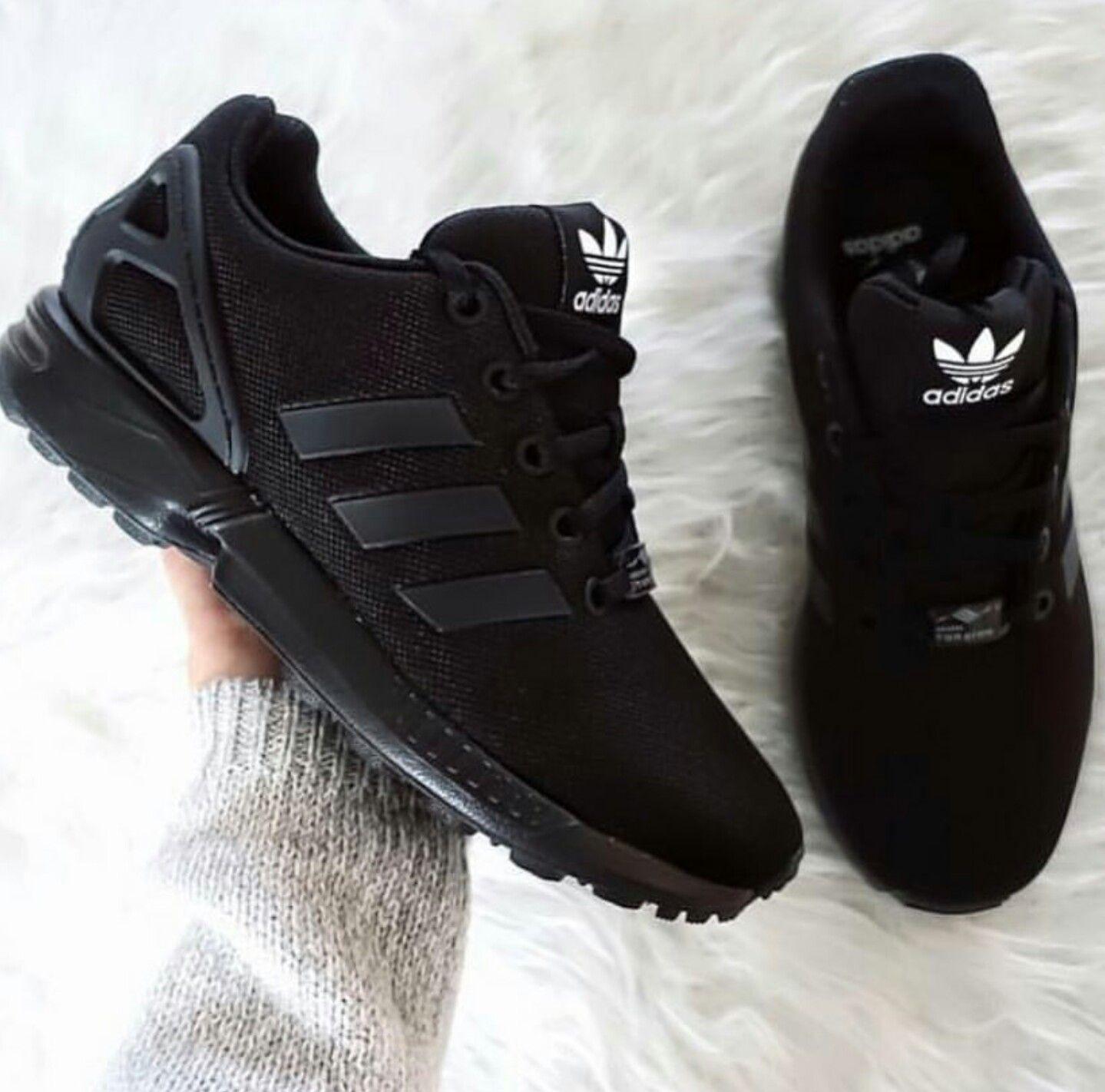 all black adidas shoes mens
