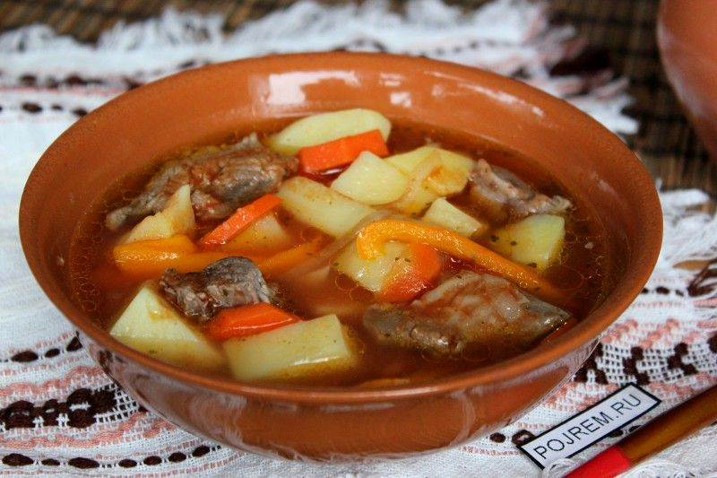 рецепт шурпа из баранины с фото
