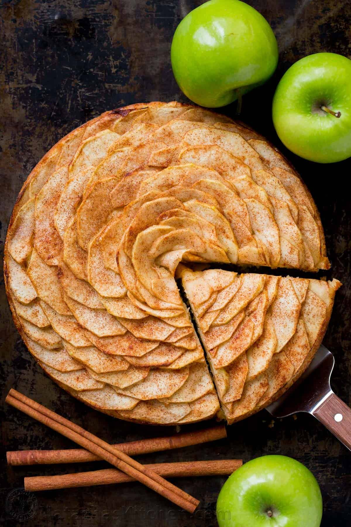 Apple Tart Recipe (Apple Rose Tart) - NatashasKitchen.com