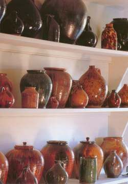 Pottery collection