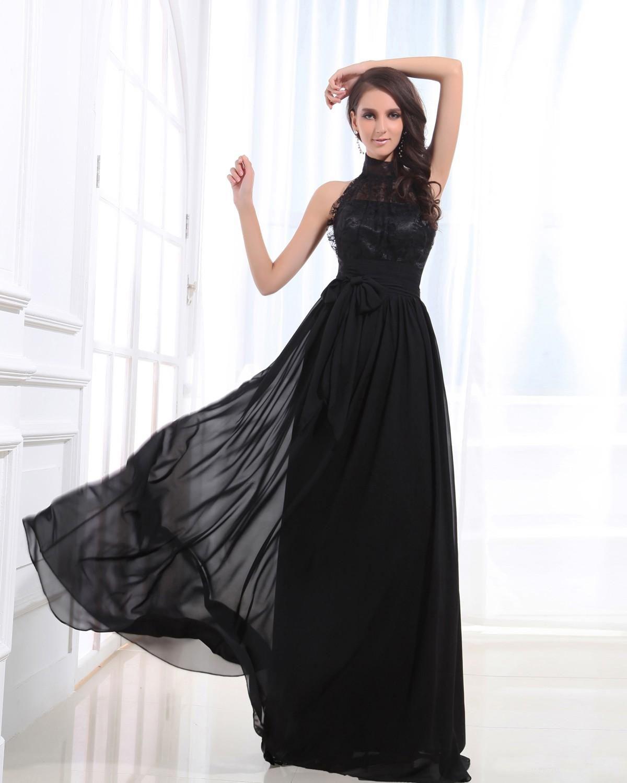 Evening dresses Abito da sera  Abito da festa Tubino Elegante con Festone  in Chiffon 4243c0bf81a