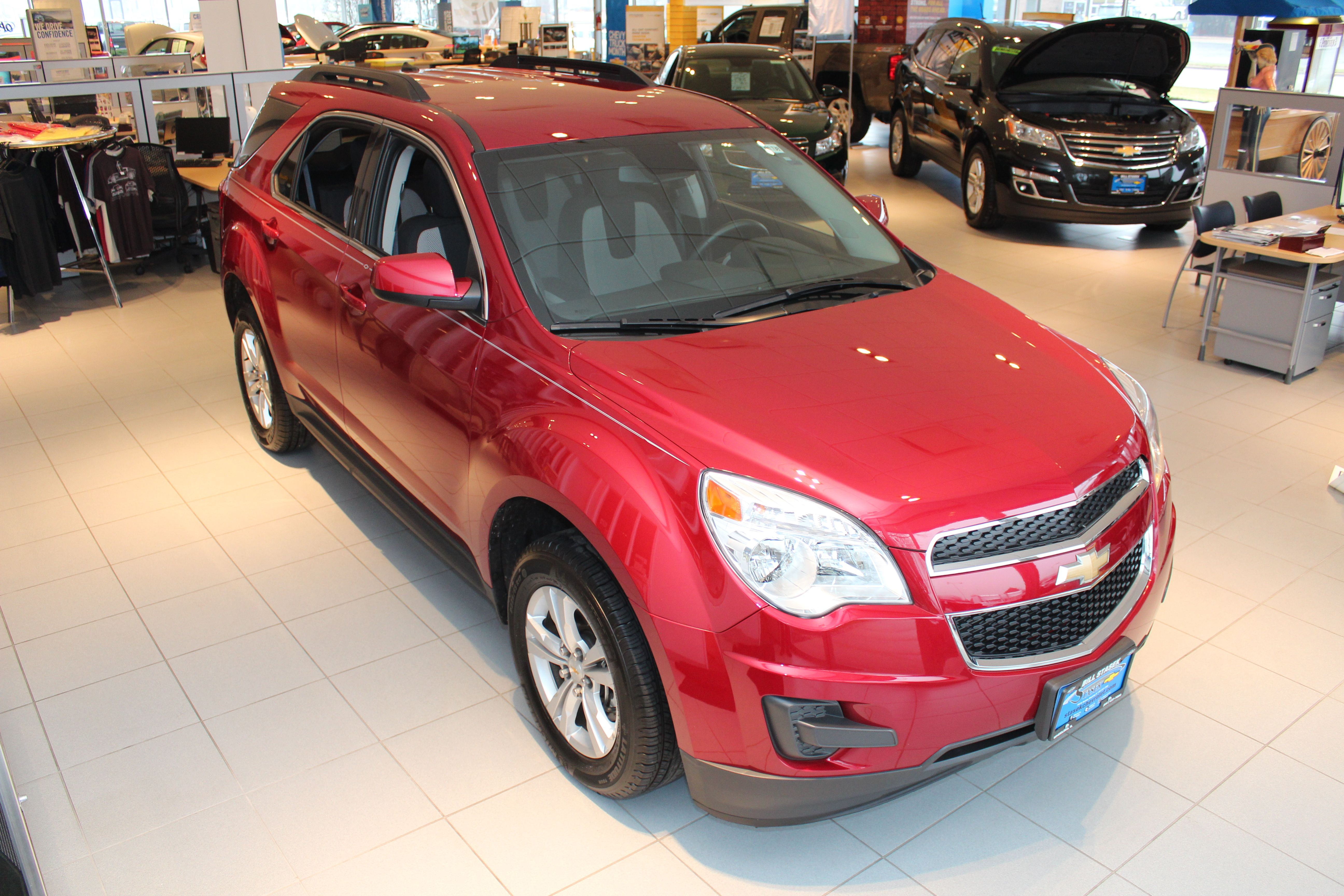 2014 Chevrolet Equinox The Efficiency You Want The Space You