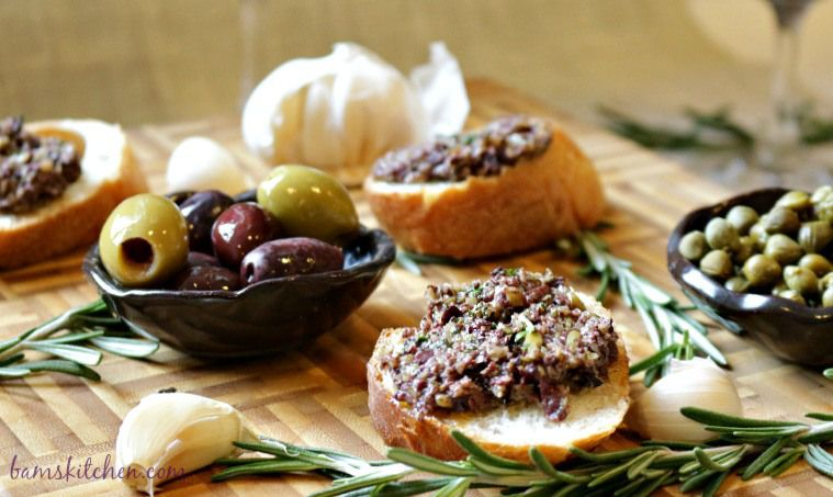 Rosemary Olive Tapenade-Bam's Kitchen