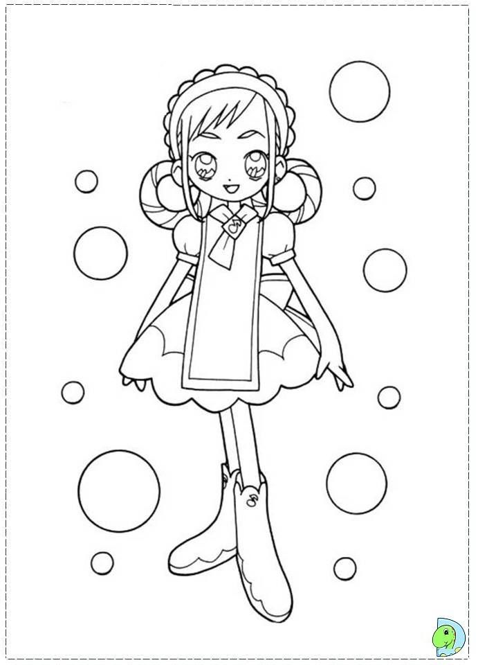 Pin By Marjolaine Grange On Coloriage Doremi Pinterest Magical Girl - Magical-doremi-coloring-pages