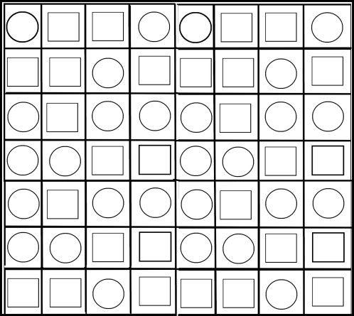 Coloriage vasarely dessin pinterest coloriage for Dessin en forme geometrique