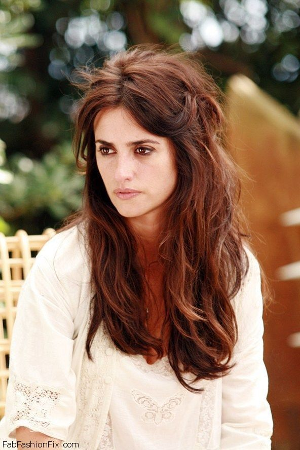 Big Textured Bedhead Hairstyle Tutorial Vicky Cristina Barcelona Penelope Cruz Hair Styles