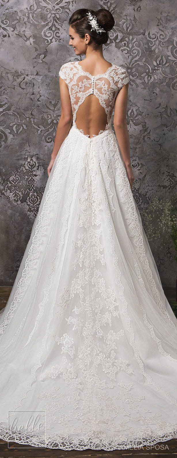 Dress for fall wedding  Amelia Sposa Wedding Dress Collection Fall   THE dress