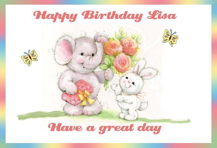 Happy Birthday Lisa 28165wall.gif   Happy Birthday to You ...