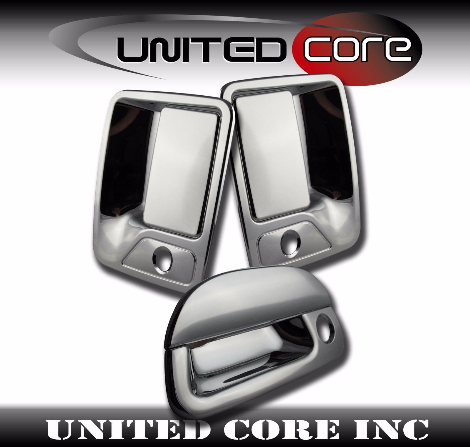 Ford F250 F350 F450 Chrome Mirror Cover Chrome Door Handle Chrome Tailgate 97-07