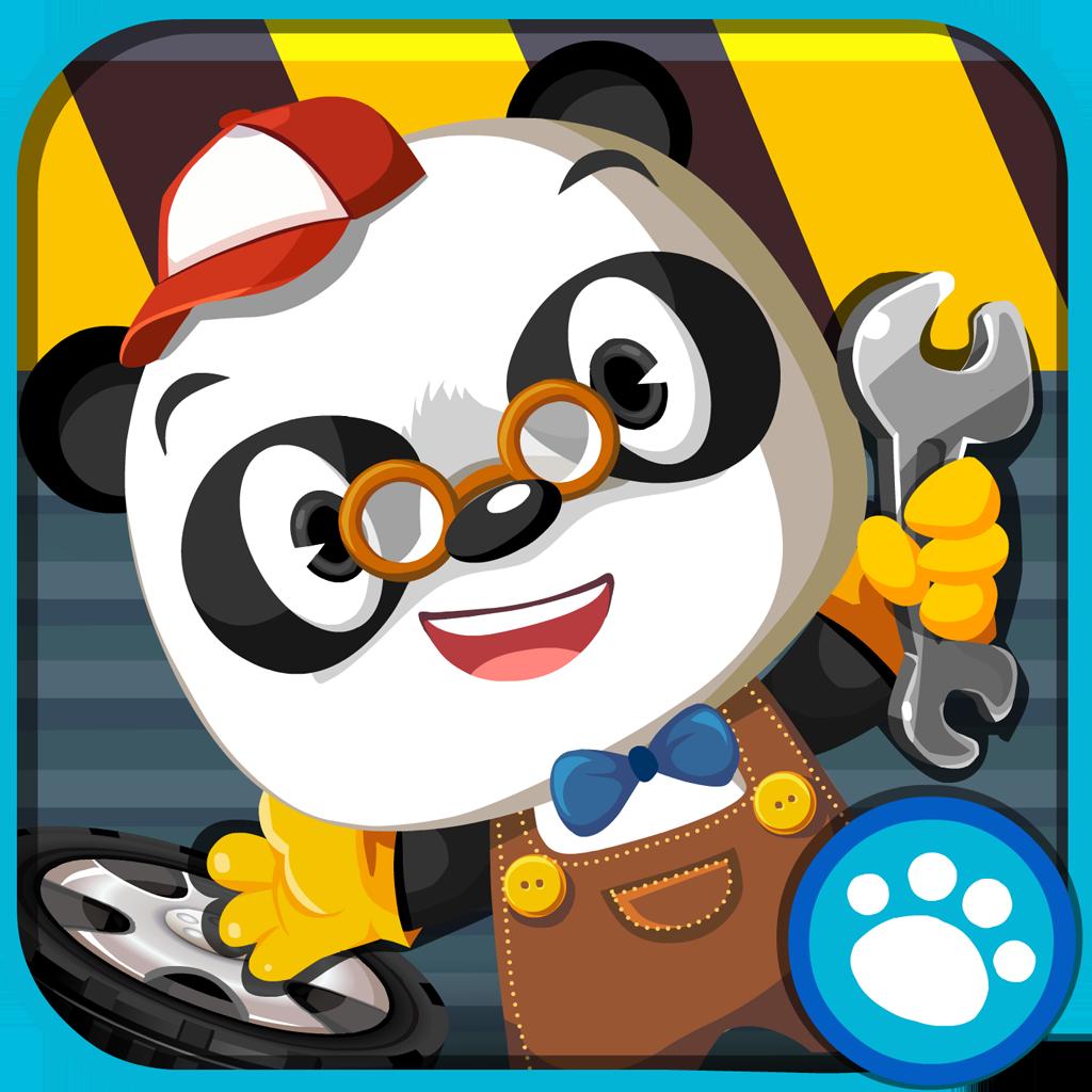 Dr Panda Garage Panda Kids App Cute Panda