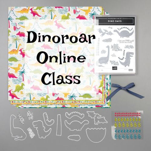 Newest Online Class - Dino Days!!! #onlineclasses