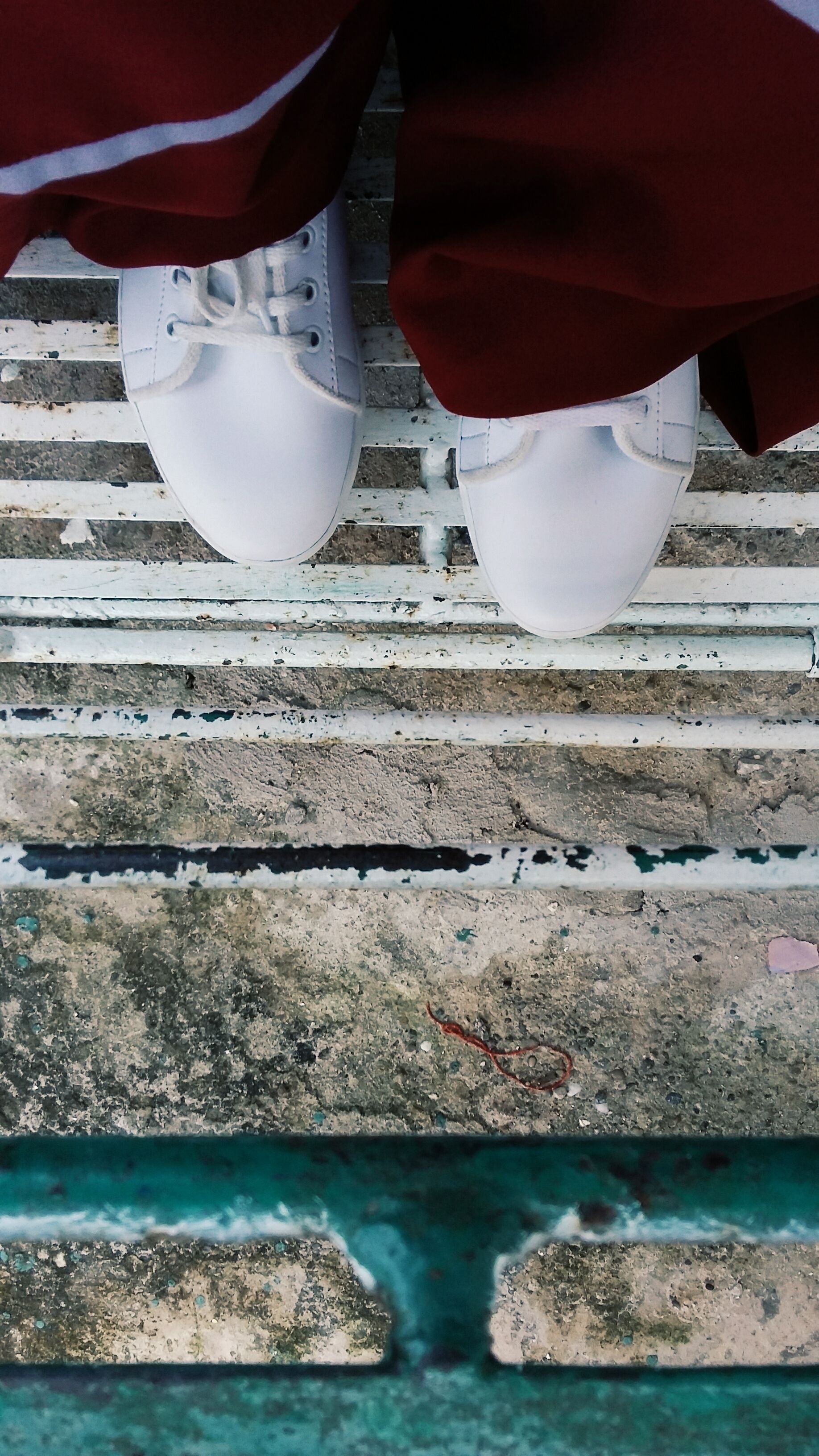 Ootd Sepatu Putih Maroon White Morning Muslimah Syari