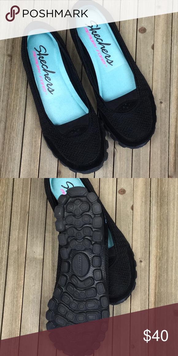 New Sketchers Memory Foam Slip On Shoes Size 8 Boutique Slip On