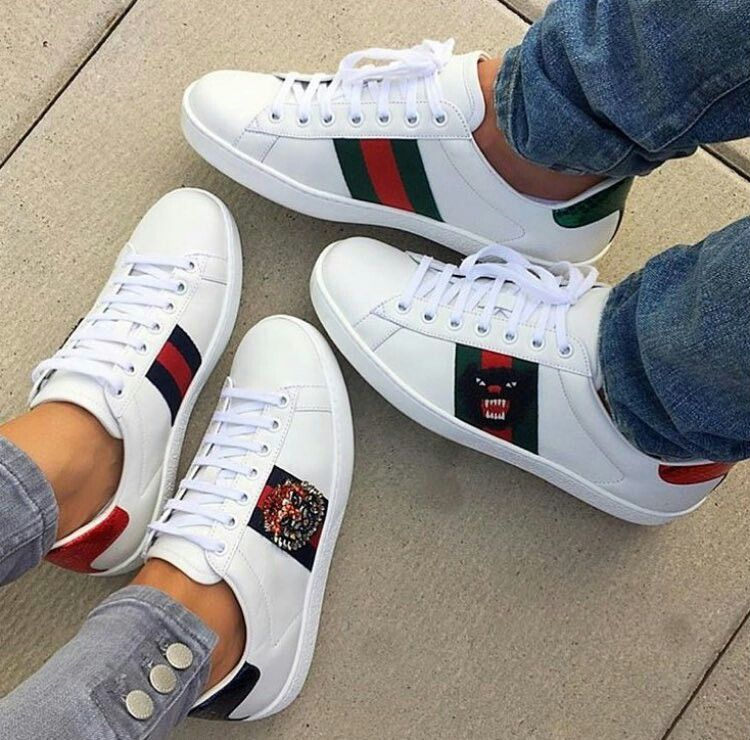 cbf9ca85780c Pin by GlamrGirl on Stepping Out   Sneakers, Shoes, Gucci sneakers