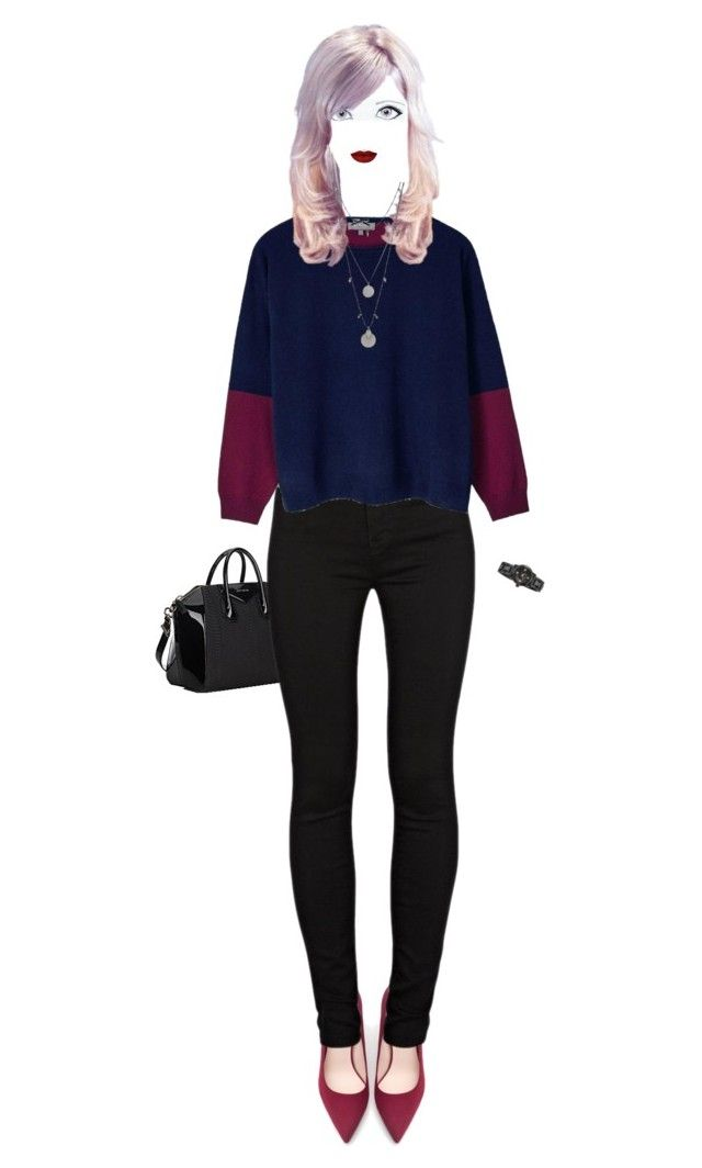 """""""beautiful soul"""" by v3n0m on Polyvore featuring Givenchy, Zara, J Brand, Cocoa Cashmere, Anastasia Beverly Hills, Vince Camuto and Nixon"""
