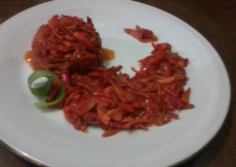 Resep Sambel Goreng Kulit Melinjo Oleh Siswaty Elfin Bachtiar Resep Resep Makanan Resep Makanan