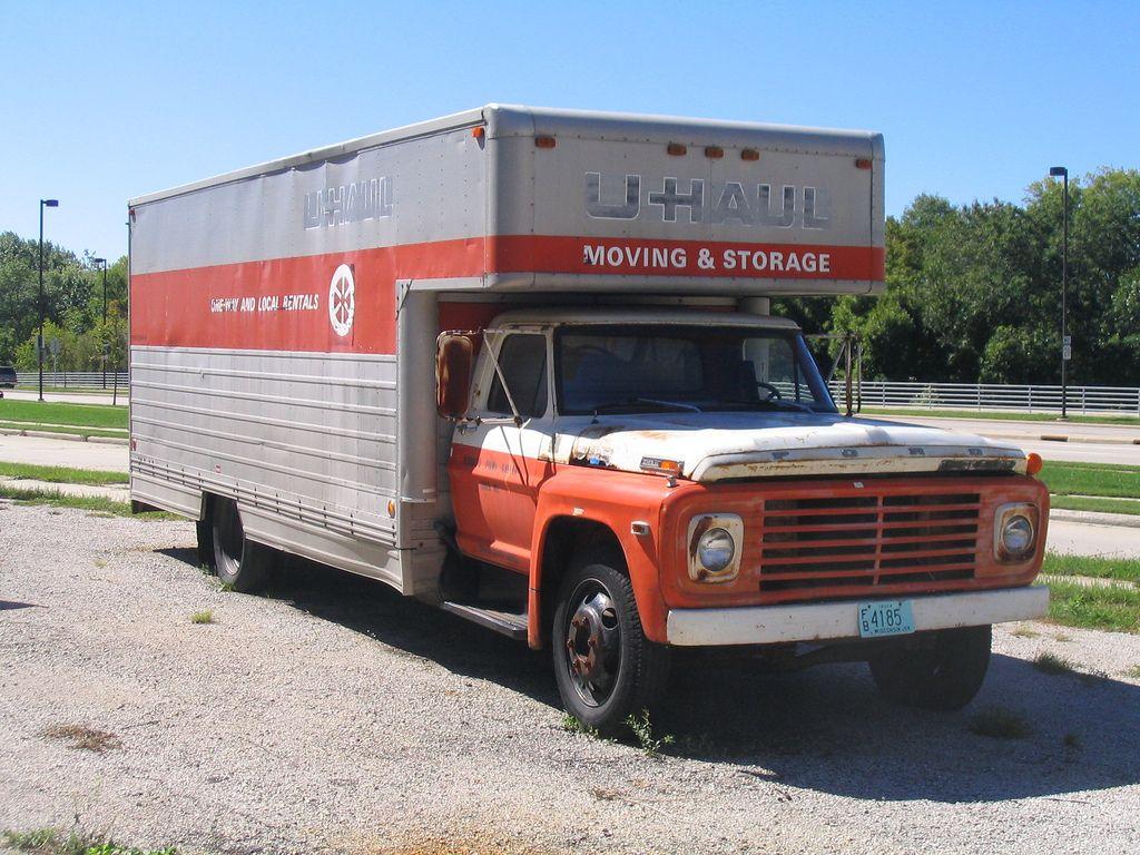 U haul ford truck