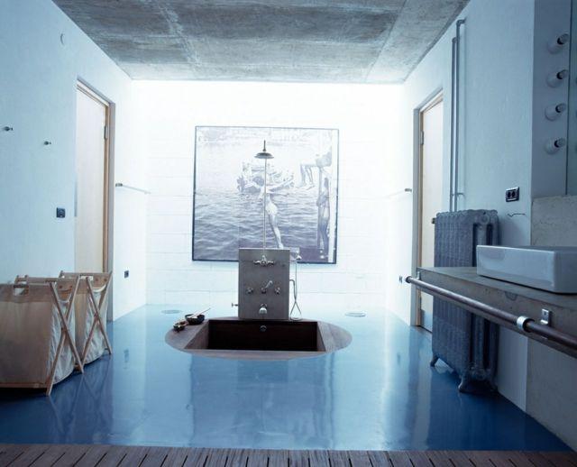 Salle de bain de luxe aux inspirations diverses