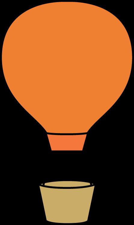 Orange Hot Air Balloon Clip Art Orange Hot Air Balloon Image Hot Air Balloon Balloon Template Balloons