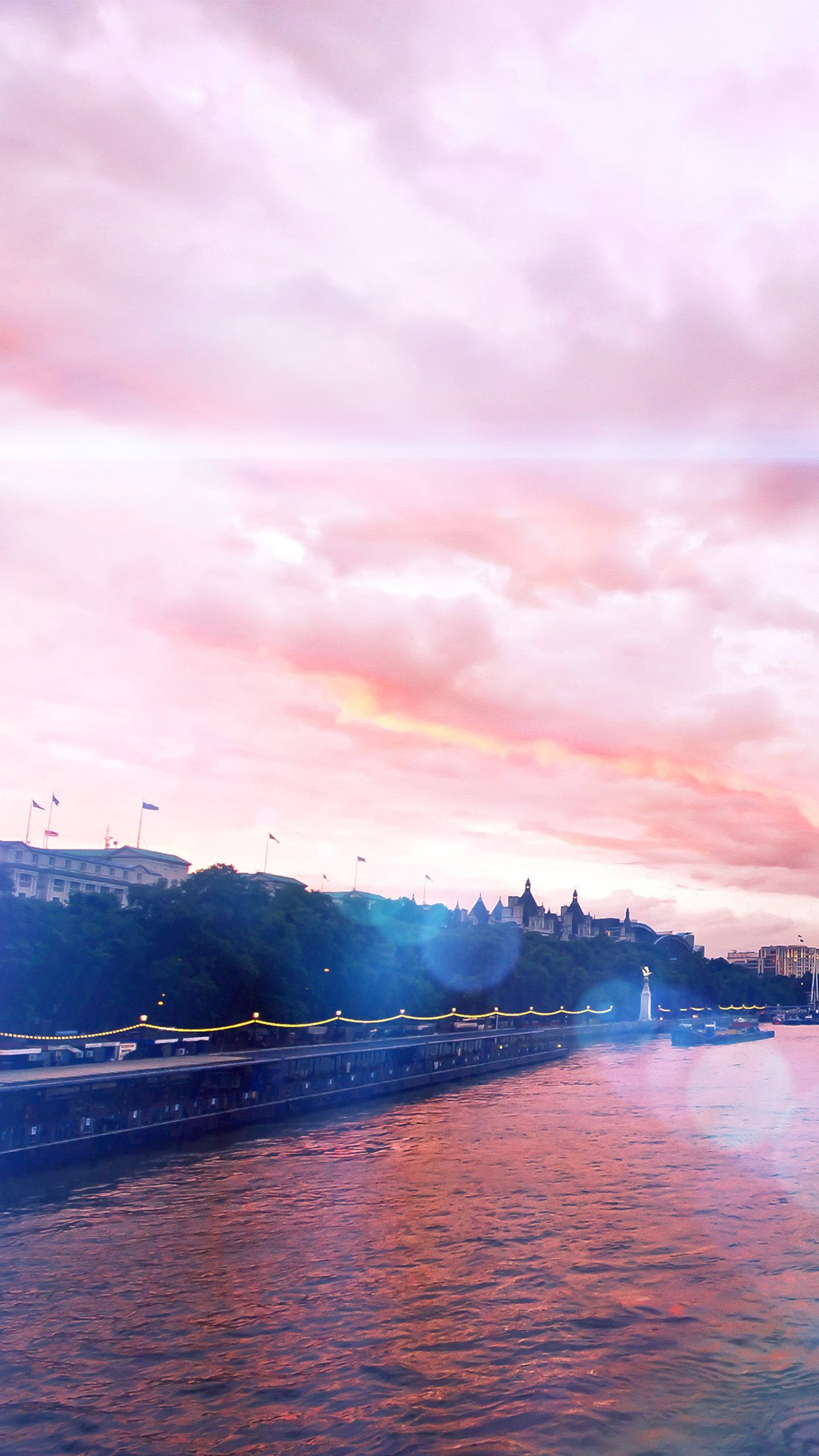 Blue Flare Rainbow River City Flags Sunset Android Wallpaper Rose Gold Wallpaper Iphone Gold Wallpaper Iphone Iphone 6s Wallpaper Rose Gold