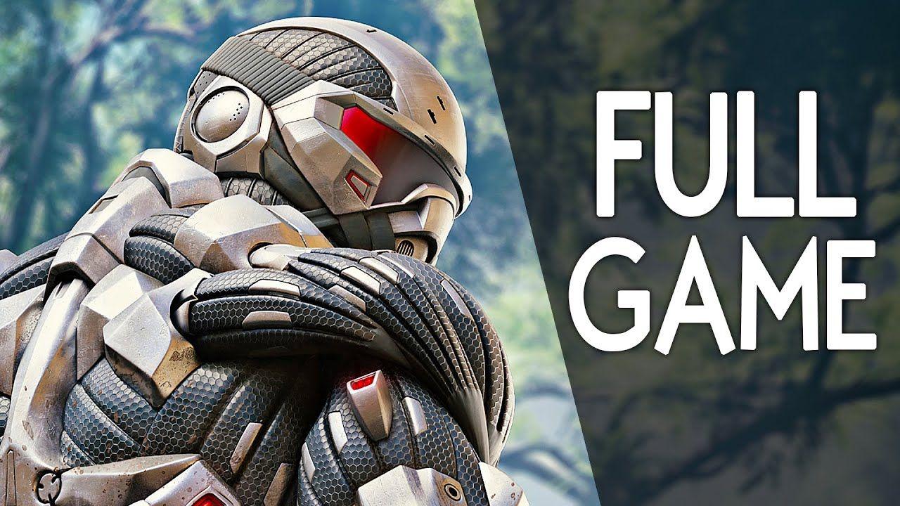 Crysis Remastered Full Game Walkthrough Gameplay No Commentary Gameplay In 2021 Full Games Gameplay Games