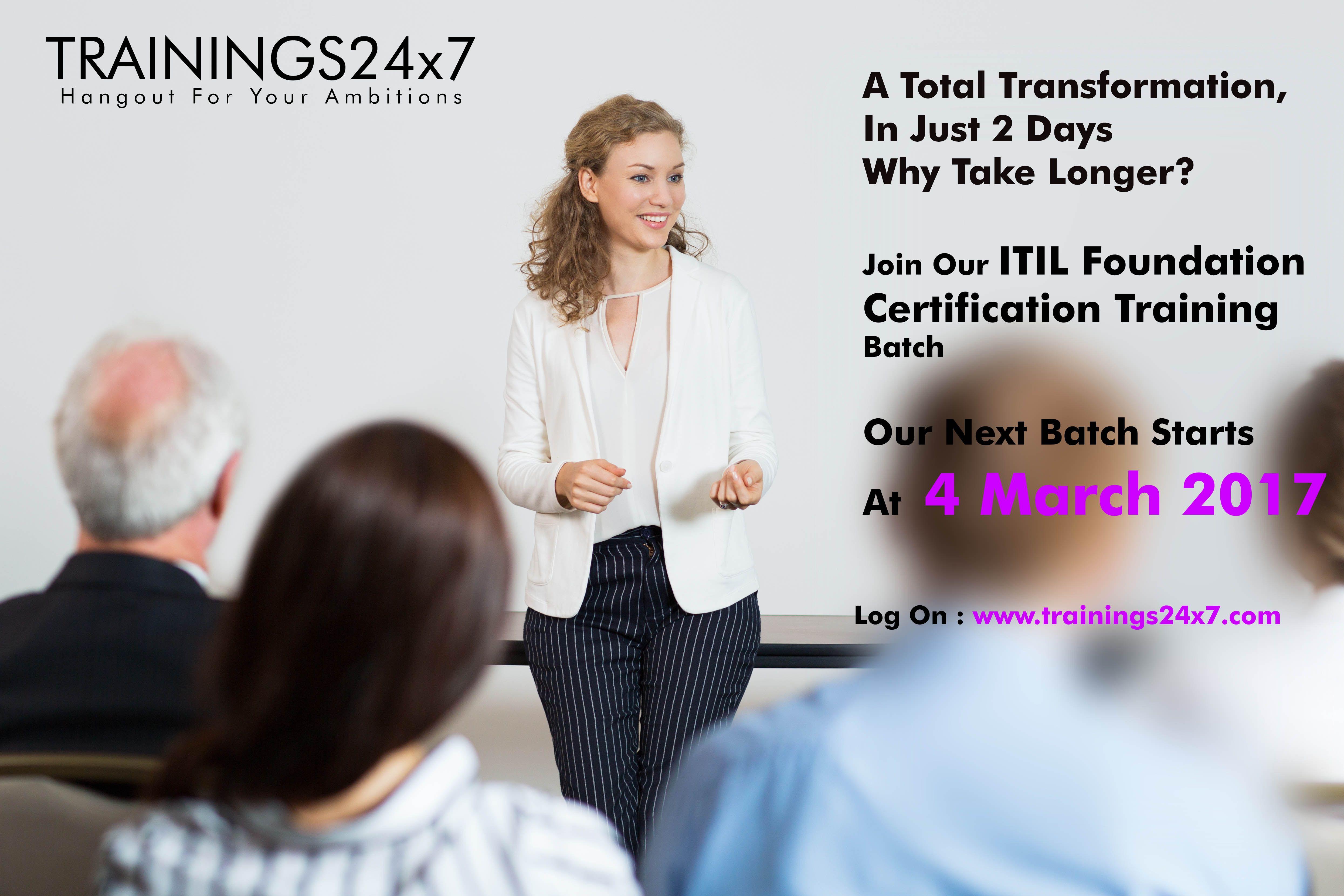 Itil V3 Foundation Training In Delhi Itil Certification In Delhi