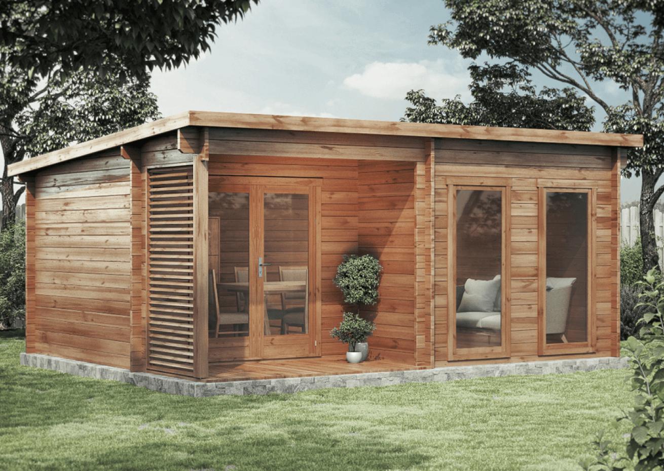 Gartenhaus Modell Orkus44 Gartenhaus, Haus und Doppeltüren