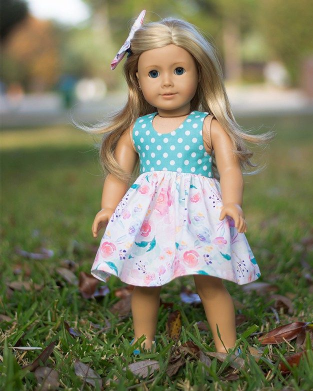Dolly Lucy. PDF downloadable sewing pattern for dolls American Girl ...