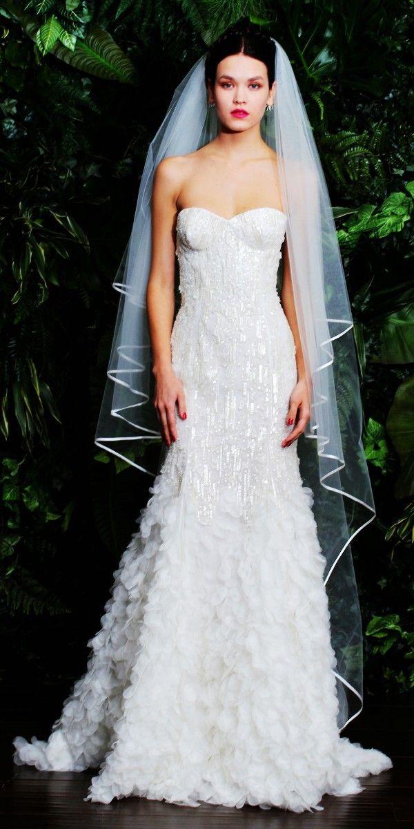 White Feather Wedding Dress #feather #wedding #dress www ...