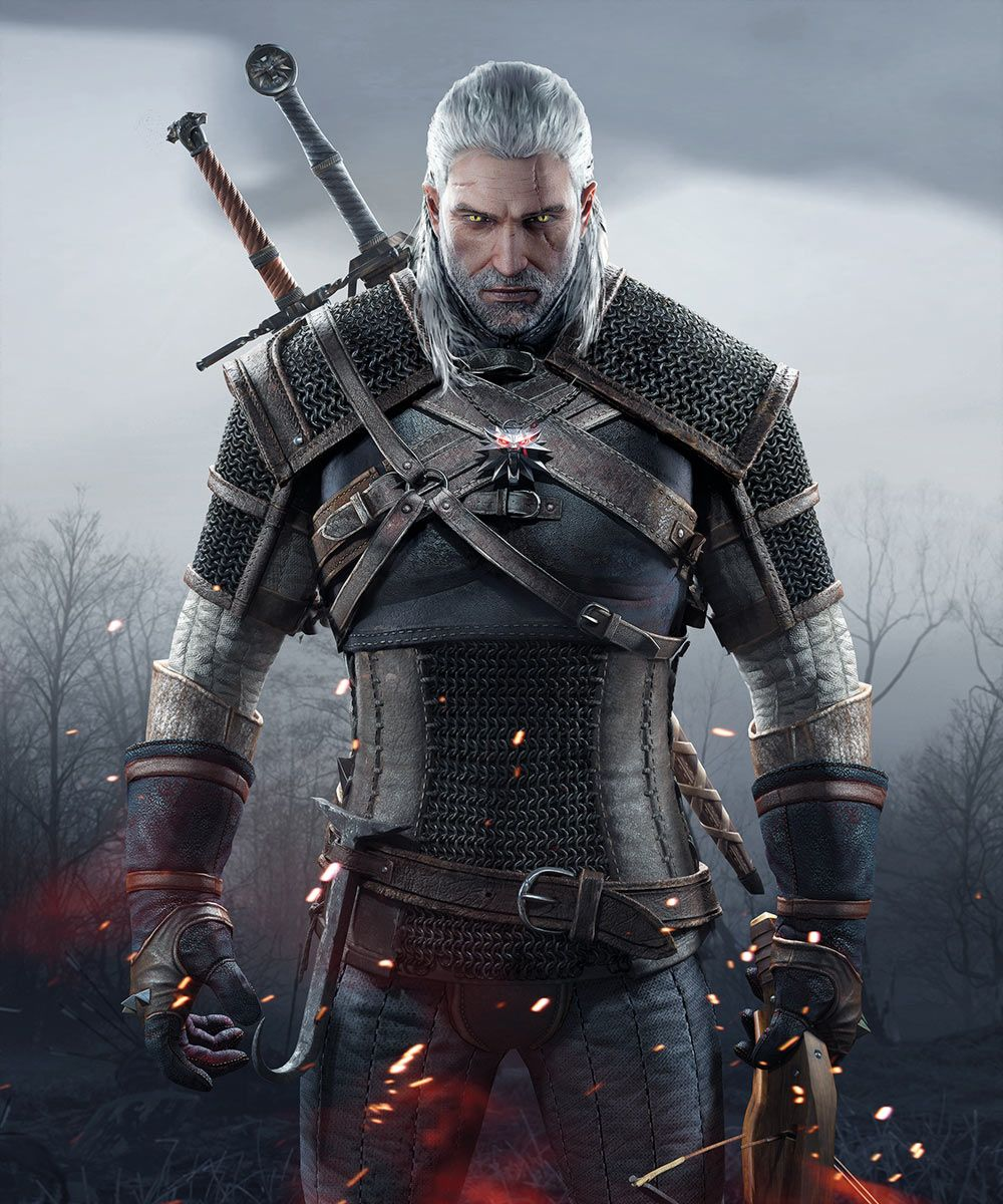 Geralt Promo Characters Art The Witcher 3 Wild Hunt The Witcher Wild Hunt The Witcher The Witcher 3