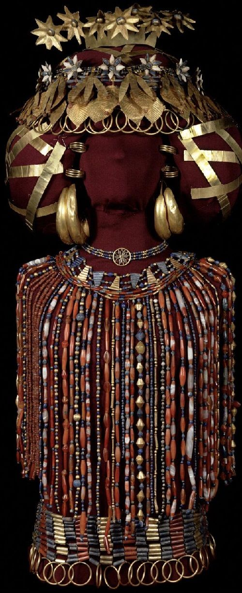 Sumerian Queen Puabi jewellery | Sumerian, Ancient art ...