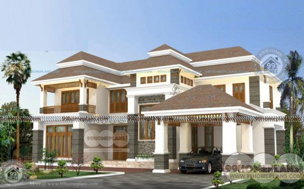 New Model House Plan Layout In Tamilnadu Style Two Stored Royal Home Craftsman House Plans Craftsman Style House Plans Model House Plan