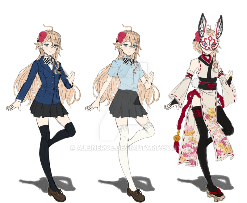 Persona 5 OC by AleineRoe persona anime content in 2019