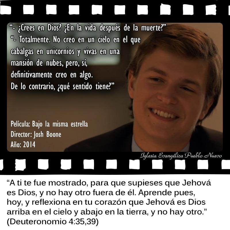 #CitasDePeliculas #CineYBiblia #BajoLaMismaEstrella
